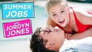 JORDYN JONES GIVES MOUTH TO MOUTH!? | Summer Jobs w/ Jordyn Jones