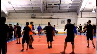 NYC Volleyball Tournament Finals Game 1 - February 2015
