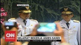 Pidato Perdana Gubernur Anies - Pelantikan Gubernur DKI Jakarta 2017