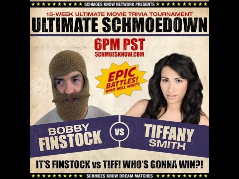 Tiffany Smith VS Finstock! (Round 1 ULTIMATE SCHMOEDOWN!)