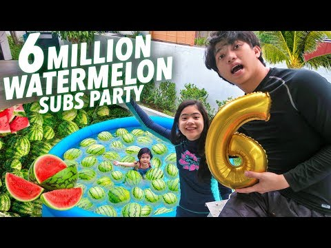 Xxx Mp4 6 MILLION SUBS WATERMELON PARTY Ranz And Niana 3gp Sex