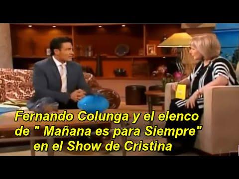 MAÑANA ES PARA SIEMPRE en el Show de Cristina COMPLETO