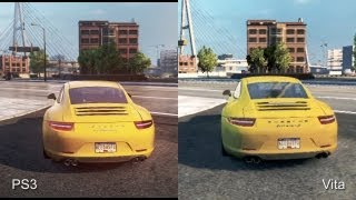 Need for Speed: Most Wanted - PS3 vs. PlayStation Vita Comparison Video