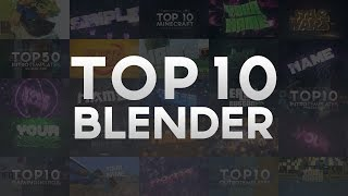 Search for topfreetemplates sarcheshmeh tube free top 10 ultimate blender intro templates december 2016 pronofoot35fo Gallery