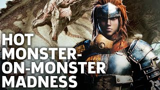 Killing Monsters With Other Monsters - Monster Hunter: World Gameplay Demo | TGS 2017