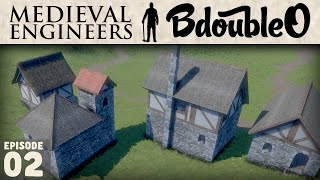 Medieval Engineers Gameplay :: Village Beginning Part 2
