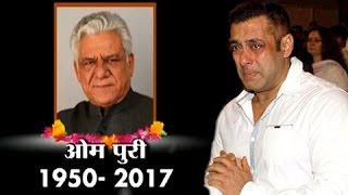 Salman Khan REACTS On Om Puri