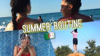SUMMER ROUTINE EN ALGÉRIE ! ♡