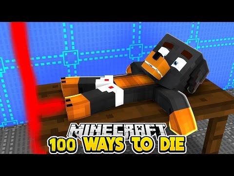 Minecraft 100 WAYS TO DIE 2 Little Club Baby Max Custom Maps Challenge