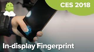 VIVO First In-Display Fingerprint Sensor at CES 2018
