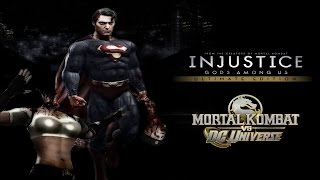 MK VS DC/Injustice Gods Among Us - All Brutalities/Supers, Free Falls, & Stage Transitions