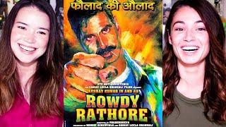 ROWDY RATHORE   Akshay Kumar   Sonakshi Sinha   Trailer Reaction w/ Achara & Jackie!