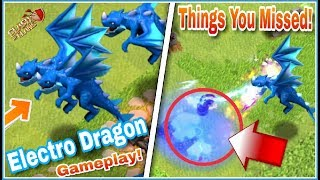 Electro dragon gameplay | Things You Missed About This Beast | Most Powerful Troop In COC History!