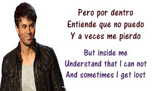Enrique Iglesias - Cuando Me Enamoro Lyrics English and Spanish ft Juan Luis Guerra - Translation