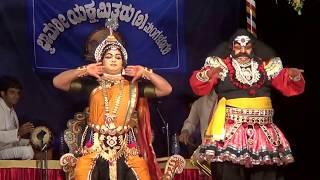 Yakshagana -- Bhasmasura Mohini  - 5 - Madhur - Marnad