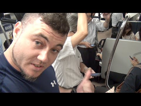 Japan Life: Catching TWO Perverts in the act on the train!