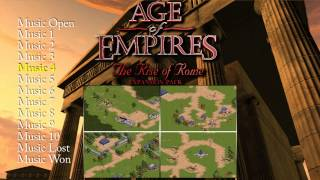 Age Of Empires: The Rise of Rome - Music Soundtracks