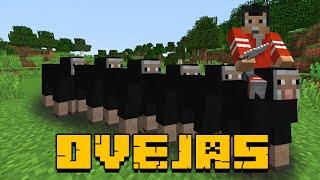 LA SERPIENTE DE OVEJAS!! - la oveja de mil nombres xD - Minecraft - NexxuzHD