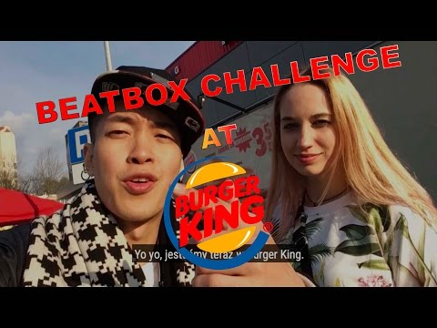 Beatbox Challenge At Burger King