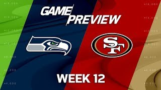 Seattle Seahawks vs San Francisco 49ers | NFL Week 12 Game Preview | Total Access