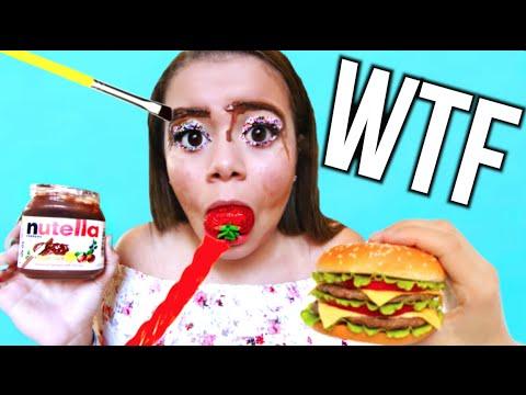 Full Face Of Makeup Using NO Makeup Krazyrayray