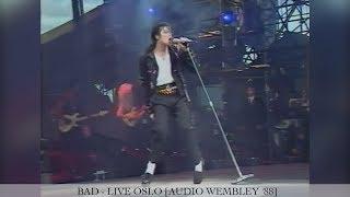 Michael Jackson - Bad [60FPS] | Dangerous Tour Live Oslo | Enhanced [Audio Wembley ´88]