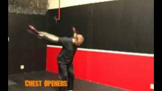 Chest Openers Indian Clubs Exercise