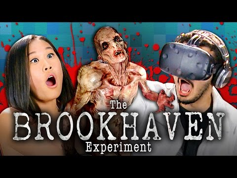 VR ZOMBIES THE BROOKHAVEN EXPERIMENT HTC Vive Teens React Gaming