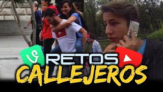 ► Retos Callejeros | Juanpa Zurita vs DebRyanShow | Bromas