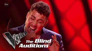 Jordan James Performs 'Don't Go': Blind Auditions | The Voice UK 2018