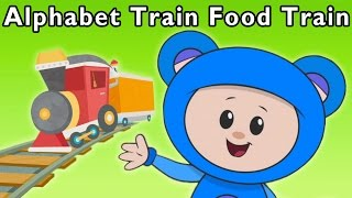 Ride the ABC Train | Alphabet Train Food Train and More | Baby Songs from Mother Goose Club!