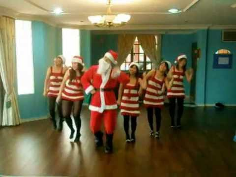 CHRISTMAS DANCE crazy frog jingle bells by FUZION DANCERS