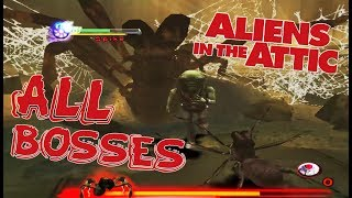 Aliens In The Attic All Bosses | Final Boss (Wii, PS2)