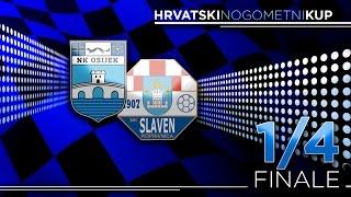 HNTV sažetak: OSIJEK vs SLAVEN BELUPO 1:0 (1/4 finale - Hrvatski nogometni kup 16/17)