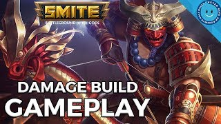 SMITE: HACHIMAN GAMEPLAY! THIS GUY HITS LIKE A TRUCK! (Hachiman Gameplay and Crit Damage Build)