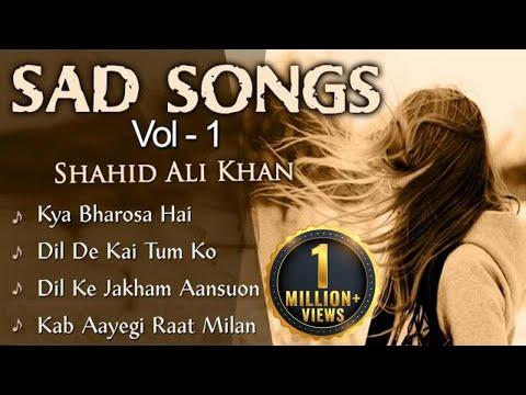 Shahid Ali Khan Best Sad Songs Collection - Sad Songs Vol 1 | Dard Bhare Geet | Musical Maestros