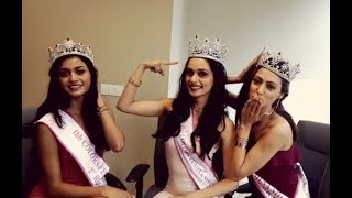 fbb Colors Femina Miss India 2017 Winners Exclusive Interview