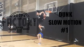 Hoops Factory Dunk Slow Motion #1