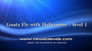 Goats Fly with Helicopter – level 1