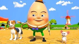 Humpty Dumpty | Kindergarten Nursery Rhymes Songs for Kids | Cartoon Videos by Little Treehouse