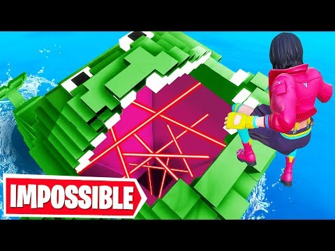 DEFAULT Rainbow DROPPER Fortnite Creative Mode