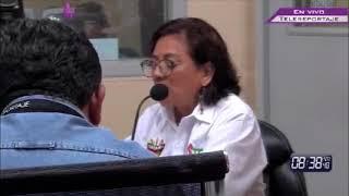 """Maria De Lourdes Diaz Cruz """"LULA DIAZ"""" En TELEREPORTAJE."""