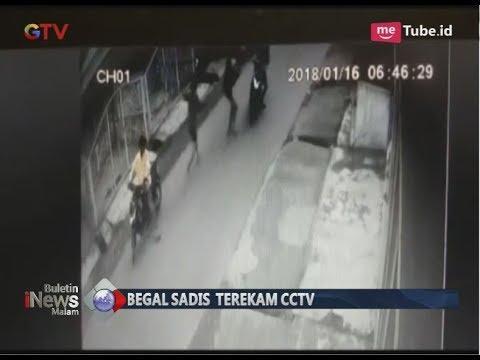 Ngeri!! Terekam CCTV, Komplotan Begal Sadis di Medan Berhasil Ditangkap Polisi - BIM 0103