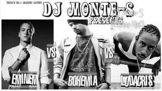 DJ Monte-S - Eminem Vs Bohemia Vs Ludacris Mashup - King of Rap Castle