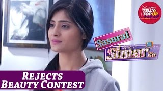 Anjali Rejects Taking Part In Beauty Contest in 'Sasural Simar Ka'