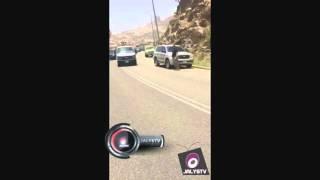 لحظه مغادرة قوات رجال المهمات الخاصه من بني مالك بعد القضاء على الهالك محمد حزم اليوم الاثنين