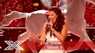 Saara Aalto | Semi Final | Into the Christmas spirit with Mariah Carey cover! | X Factor UK 2016
