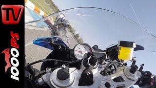 BMW S 1000 RR 2016 Onboard @MotoGP Racetrack Brünn