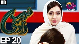 Ghareebzaadi - Episode 20 | A Plus ᴴᴰ Drama | Suzzaine Fatima, Shakeel Ahmed, Ghazala Kaife