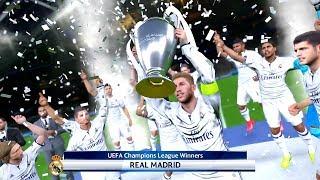 PES 2017 JUVENTUS F.C. VS. REAL MADRID C.F. UEFA CHAMPIONS LEAGUE FINAL MATCH HIGHLIGHTS